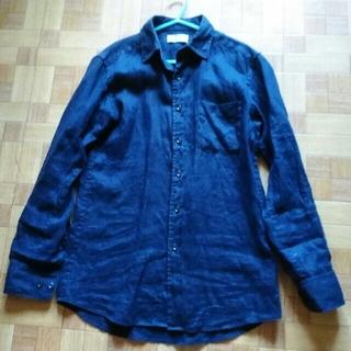 UNIQLO - ユニクロ*麻100%*ワイシャツ*サイズ表記S