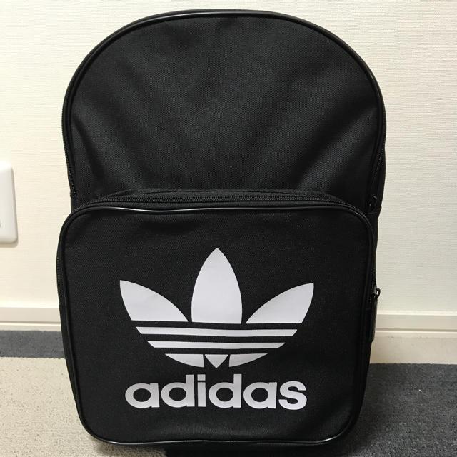 adidas(アディダス)のadidas バックパック リュック レディース キッズ ブラック レディースのバッグ(リュック/バックパック)の商品写真