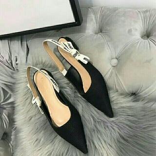 Christian Dior - DIOR  靴 ストラップパンプス 24.5cm