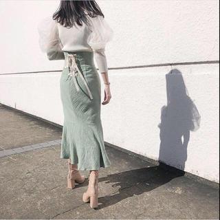 snidel - スナイデル♡コットンリネンマーメイドスカート