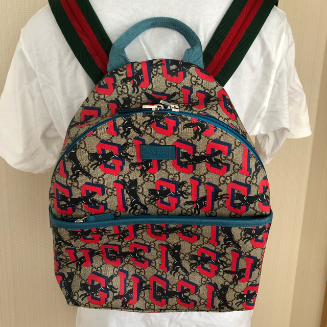 Gucci(グッチ)のレア!グッチ gucci チルドレン ウルフ バックパック リュック レディースのバッグ(リュック/バックパック)の商品写真