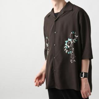 ハレ(HARE)のHARE シシュウカイキンシャツ ブラックS(シャツ)