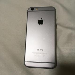 iPhone - iphone 6 スペースグレー 【ジャンク品】