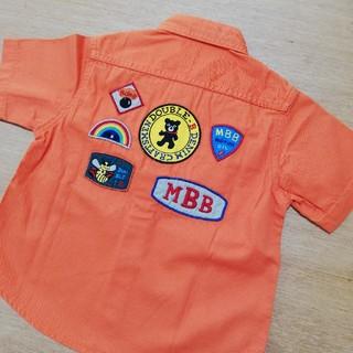 ミキハウス(mikihouse)のmikihouse ダブルB シャツ 100(Tシャツ/カットソー)