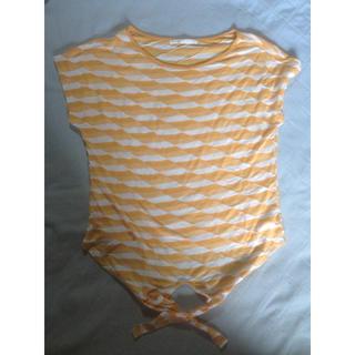 ボーダーT オレンジ(Tシャツ(半袖/袖なし))