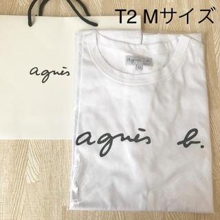 agnes b. - 新品未使用 agnes b. アニエスベー ロゴ Tシャツ Mサイズ