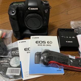 Canon - Canon EOS 6D ボディ バッテリーグリップ付き