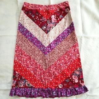 ケイタマルヤマ(KEITA MARUYAMA TOKYO PARIS)のケイタマルヤマ 膝下スカート 1サイズ(ひざ丈スカート)