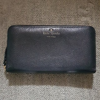 ケイトスペードニューヨーク(kate spade new york)のkate Spade 長財布 黒(財布)