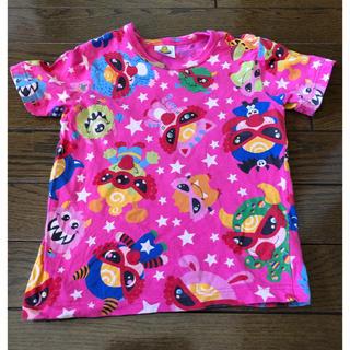 ヒステリックミニ(HYSTERIC MINI)のヒステリックミニ♡ Tシャツ ピンク 90㌢(Tシャツ/カットソー)