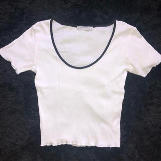 ZARA - ZARA ショート丈Tシャツ