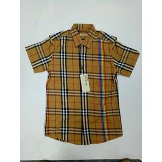 BURBERRY - Burberry バーバリー シャツ  半袖  L メンズ