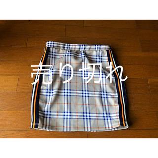 インポ-トチェック柄ミニスカート