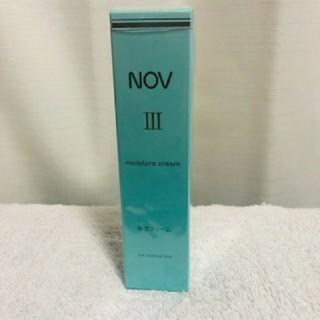 ノブ(NOV)のNOVⅢ ノブⅢ モイスチュアクリーム 保湿クリーム(フェイスクリーム)
