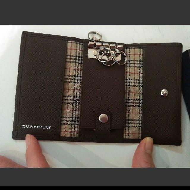 BURBERRY(バーバリー)のバーバリー キーケース メンズ 新品未使用 BURBERRY メンズのファッション小物(キーケース)の商品写真