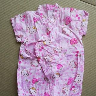 サンリオ(サンリオ)のキティちゃん 甚平ロンパース(甚平/浴衣)