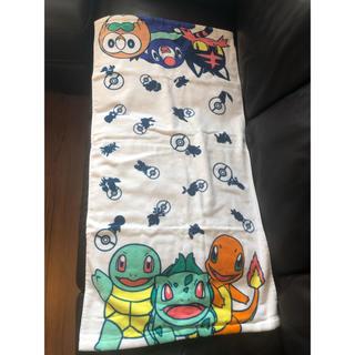 ポケモン - ポケモン バスタオル 新品 サイズ50×97 一番くじ ポケットモンスター