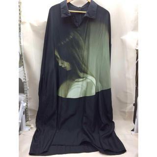 Yohji Yamamoto - yohji yamamoto POUR HOMME◆18ssシルクロングシャツ
