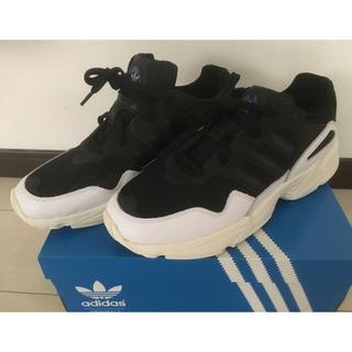 アディダス(adidas)のadidas YUNG-96  28.5cm  黒/白(スニーカー)