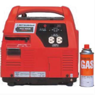 ミツビシ(三菱)の三菱重工 ポータブルガス燃料発電機 MGC900GB 緊急用(防災関連グッズ)