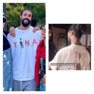 FEAR OF GOD - Jerry lorenzo 着用 Tina Turner Tシャツ