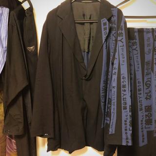 Yohji Yamamoto - 着る服ないの 青塔婆メッセージジャケット