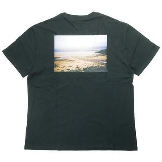 フィアオブゴッド(FEAR OF GOD)のFear Of God Essentials 半袖Tシャツ Mサイズ ブラック(Tシャツ/カットソー(半袖/袖なし))