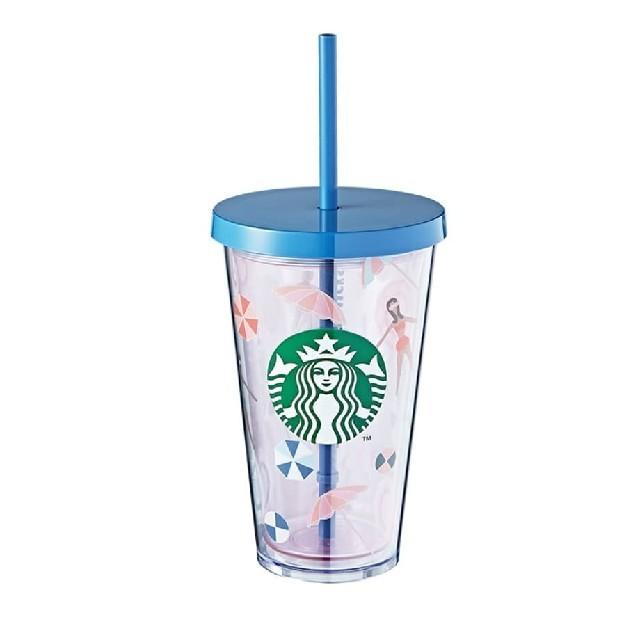 Starbucks Coffee(スターバックスコーヒー)のスタバ タンブラー 韓国 海外 preadコールドカップタンブラー 新品 インテリア/住まい/日用品のキッチン/食器(タンブラー)の商品写真
