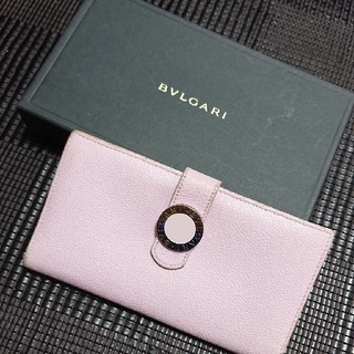 ブルガリ(BVLGARI)のBVLGARI 長財布 ピンク コローレ 長札(財布)