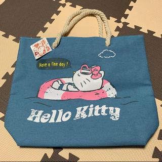 サンリオ(サンリオ)の【新品】Hello Kitty デニムロープバック(トートバッグ)