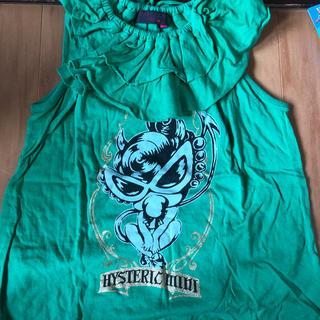 ヒステリックミニ(HYSTERIC MINI)のヒスミニフリルチュニック(Tシャツ/カットソー)