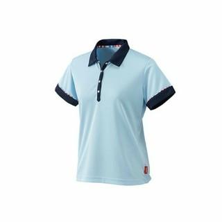 ニッサン(日産)の新品タグ付き!日産コレクション レディース 半袖 ポロシャツ Mサイズ ブルー(ポロシャツ)