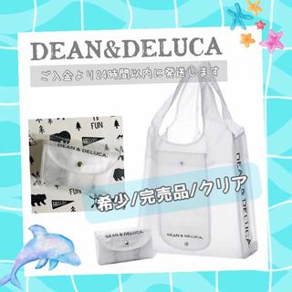 DEAN & DELUCA - 希少完売品/クリアDEAN&DELUCAエコバッグショッピングバッグトートバッグ