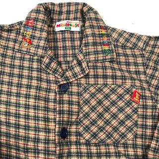 ミキハウス(mikihouse)のミキハウス チェックシャツ 100(Tシャツ/カットソー)