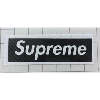 Supreme - シュプリーム Supreme カッティングステッカー カーボンブラック