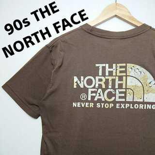 ザノースフェイス(THE NORTH FACE)の563 90年代 ザノースフェイス デカロゴ Tシャツ ゴールドウィン製 薄手(Tシャツ/カットソー(半袖/袖なし))