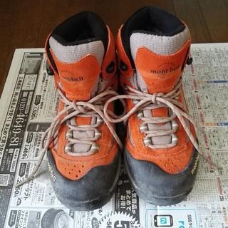 モンベル(mont bell)の登山靴 24.5㎝ モンベル mont-bell トレッキングシューズ(登山用品)