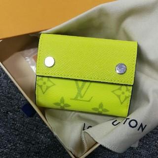 LOUIS VUITTON - 三つ折り財布 レディース L v 美品 本革