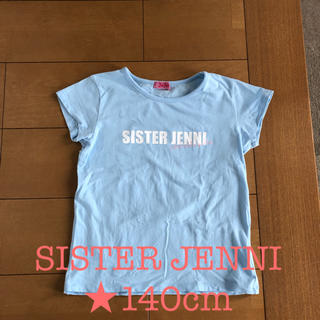 ジェニィ(JENNI)のSISTER JENNI シスタージェニィ★Tシャツ★140cm(Tシャツ/カットソー)