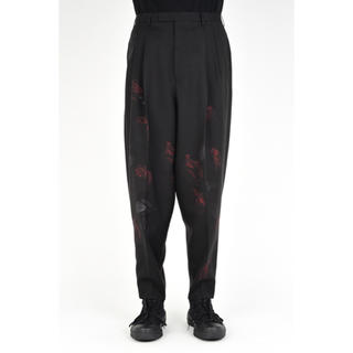 LAD MUSICIAN - 2TUCK TAPERED WIDE SLACKS  18aw
