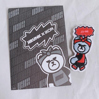 アイコン(iKON)のiKON KRUNK 刺繍ステッカー ジュネ(ミュージシャン)