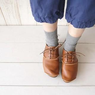 トリッペン(trippen)のtrippen トリッペン★round レザーシューズ 35(ローファー/革靴)