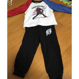 ユニクロ(UNIQLO)の仮面ライダービルドパジャマ(長袖長ズボン)100cm(パジャマ)