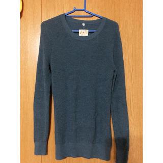 ムジルシリョウヒン(MUJI (無印良品))の無印良品 オーガニック コットン ワッフル編み(ニット/セーター)