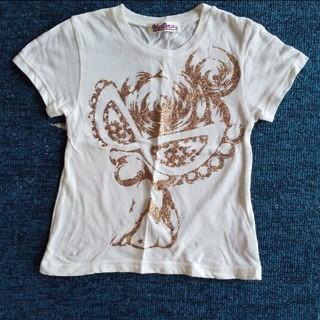 ヒステリックミニ(HYSTERIC MINI)のヒステリックミニ ラメTシャツ 100cm 少々難あり(Tシャツ/カットソー)