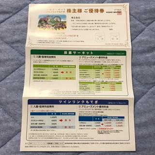 ホンダ(ホンダ)の株主ご優待券 鈴鹿サーキット ツインリンクもてぎ (遊園地/テーマパーク)