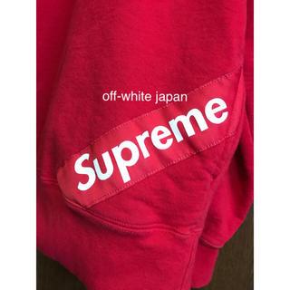 Supreme - Supreme 18ss Corner Label Hooded シュプリーム