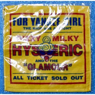 ヒステリックミニ(HYSTERIC MINI)のヒスミニ☆正規品☆レア☆新品☆ハンドタオル☆YANKEE GIRL(タオル/バス用品)