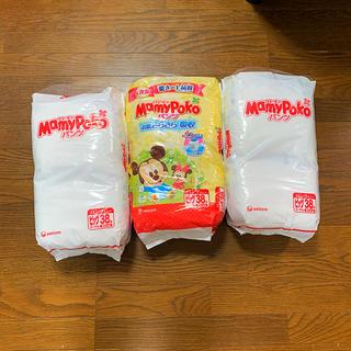 ニシマツヤ(西松屋)の新品 パンパース 38枚×3袋 マミーポコ(ベビー紙おむつ)