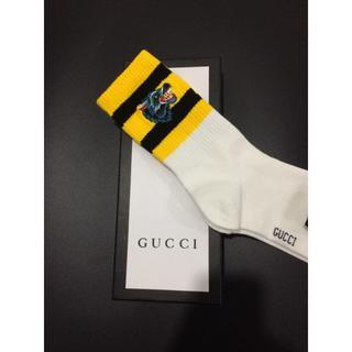 グッチ(Gucci)の人気 Gucci ウルフ ホワイト ソックス 靴下 即購入ok(ソックス)